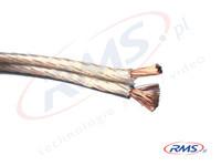Przewód głośnikowy 2x 1,5mm2 - miedź 99,9 % czystości