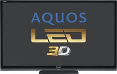 """Sharp LC-70LE747E (LC-70LE747E) Telewizor LED 3D Full HD 70"""" (177cm)"""