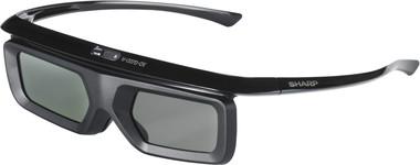 Sharp AN-3DG40-B (AN3DG40B) Okulary 3D Bluetooth, kompatybilne z modelami LE857, LE747, LE747, LE657