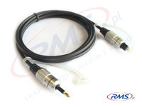 Kabel jack optyczny - TOSLINK - Digital (D-JT10) HQ - 1m