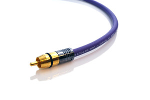 Melodika MDSW40 Kabel do subwoofera (RCA-RCA) Purple Rain - 4m