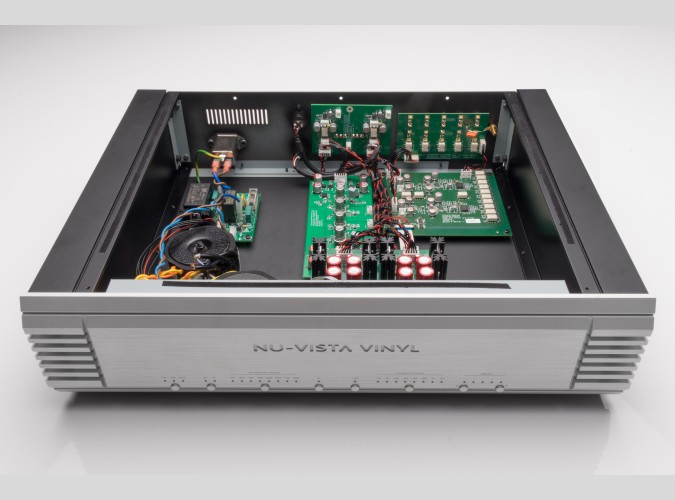 Musical Fidelity Nu-Vista (Nuvista) Vinyl hi-end tube phono preamp MM / MC