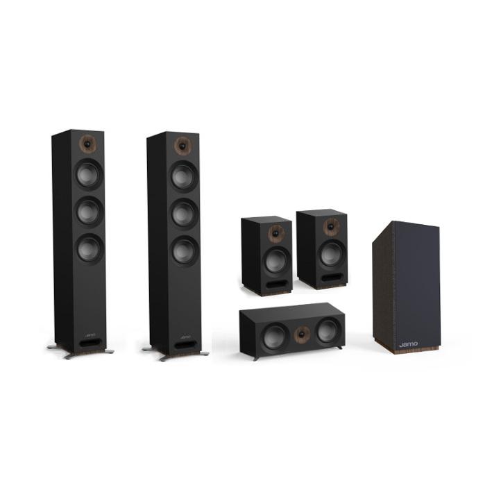 Jamo S 808 SUB (S808SUB) + 81 CEN (S81CEN) + S 803 (S803) + S 809 (S809)  Home Cinema Speakers Set 5 1